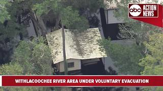 Voluntary evacuation order in effect for Withlacoochee River-area residents - Video