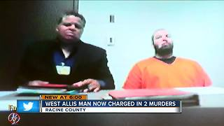 Kenosha murder suspect charged in separate murder in Racine - Video