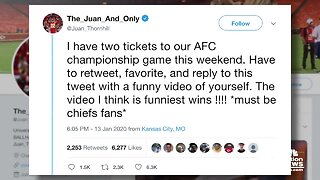 Chiefs' Thornhill giving away 2 tickets to AFC Championship
