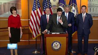 Political leaders react to Ryan retirement - Video