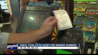 Idaho Lucky!  $1,000,000 Powerball Winner Sold - Video