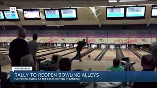 Rally to reopen bowling alleys taking place in Lansing