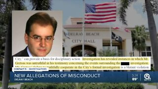Delray Beach claims suspended city manager 'engaged in numerous instances of misconduct'