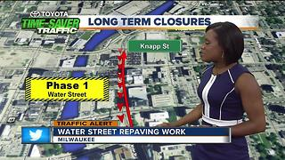 Water Street closed for repaving work - Video