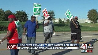 GM makes new offer to UAW workers on strike