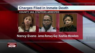 Three Milwaukee County jail staff members charged in dehydration death of inmate Terrill Thomas - Video