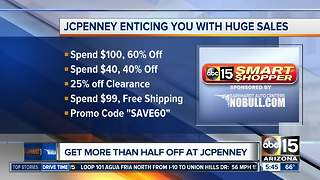 Get more than half off at JCPenney