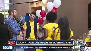 Residential fair held in Downtown Las Vegas - Video