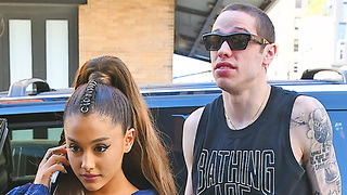 Pete Davidson Speaks Out About Downsides Of Being With Ariana Grande