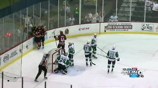Roadrunners win 2-1 in OT to take game 1 from Texas - Video