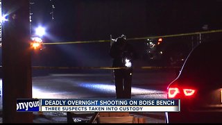 Three suspects identified, charged in deadly Boise shooting