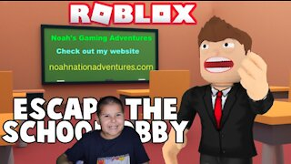 Roblox: Escape The School Obby Gameplay