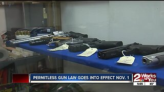 New permitless carry gun law goes into effect Nov. 1