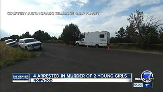 Girls murdered west of Telluride, may have been dead for weeks - Video