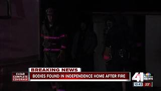 Two bodies found after structure fire in Independence - Video