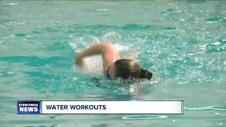 Katie's Swimming Workout - Video