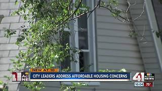 KCMO to address concerns on affordable housing - Video