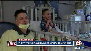 3-year-old Indy boy waiting for kidney transplant - Video