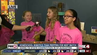 Homeschool robotics team qualifies for state competition - 7:30am live report - Video