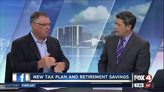 New tax plan and retirement savings