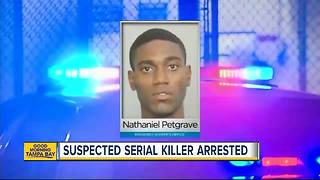 Suspected serial killer arrested - Video