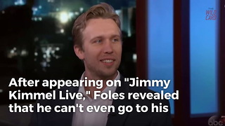 Nick Foles Can't Go Anywhere Without People Crying - Video