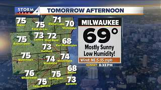 Low humidity and pleasant Friday - Video