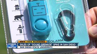 New sound device could prevent attacks on college campuses after dark - Video