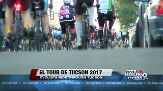 El Tour de Tucson 2017 sees thousands of cyclists ride through Pima County - Video