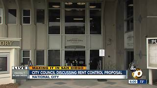 National City discusses rent control - Video