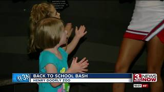 Back to school bash at Henry Doorly Zoo and Aquarium - Video