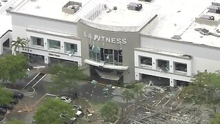 Authorities investigate explosion at Plantation shopping plaza