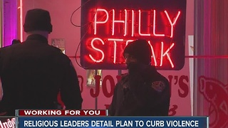 Indianapolis religious leaders detail plan to fight crime - Video