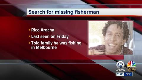 Sebastian police searching for missing fisherman