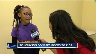 Racine students receive free book as part of 'Battle of the Books' event