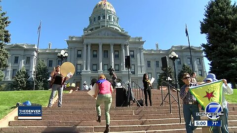 Colorado's Kurdish community rallies at state Capitol against Turkish attacks in Syria