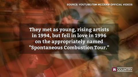 The love between Tim and Faith   Rare Country