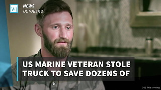 US Marine Veteran Stole Truck To Save Dozens Of People During Las Vegas Shooting - Video