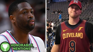 Dwyane Wade Fan Gets BURNED by Cavs Trade -HM - Video