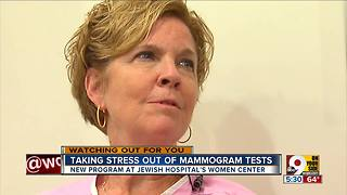 Taking stress out of mammogram tests - Video