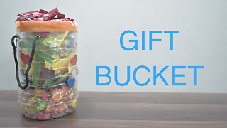 How To Make A Bucket With Recycle Plastic Bottle  - Video