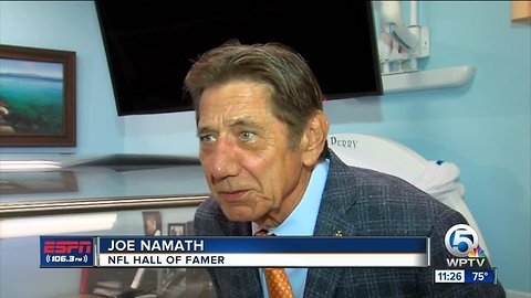 Joe Namath The Sears Institute