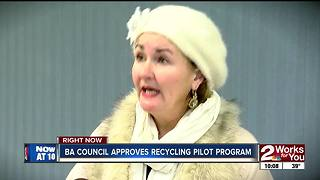 BA council moves ahead with recycling pilot program - Video