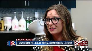 Proposed bill would repeal cosmetology licenses - Video