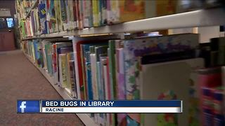 Bed bugs force Friday closure of Racine Public Library - Video