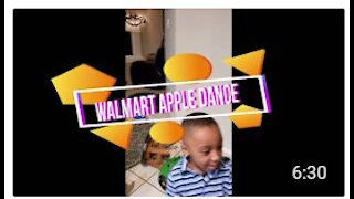 Crazy kid Wal-Mart Dance