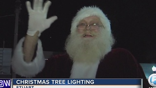 Christmas tree lightning - Video