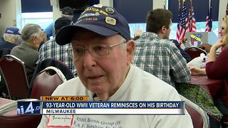 Wisconsin WWII veteran shot down in Germany celebrates 93rd birthday