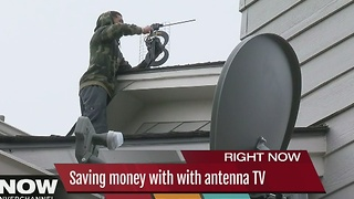 Saving money with with antenna TV - Video