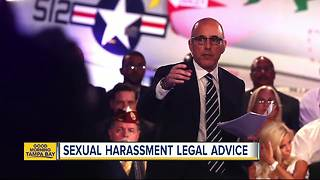 Number of people seeking legal advice locally for sexual harassment spikes since national headlines - Video